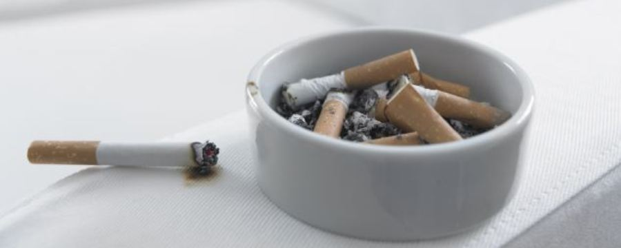 Avoid Ash Tray to get insurance